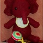 Pot Belly Baby Elephant Free Crochet Pattern