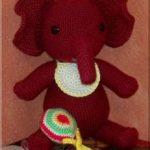 Pot Belly Baby Elephant Free Crochet Pattern
