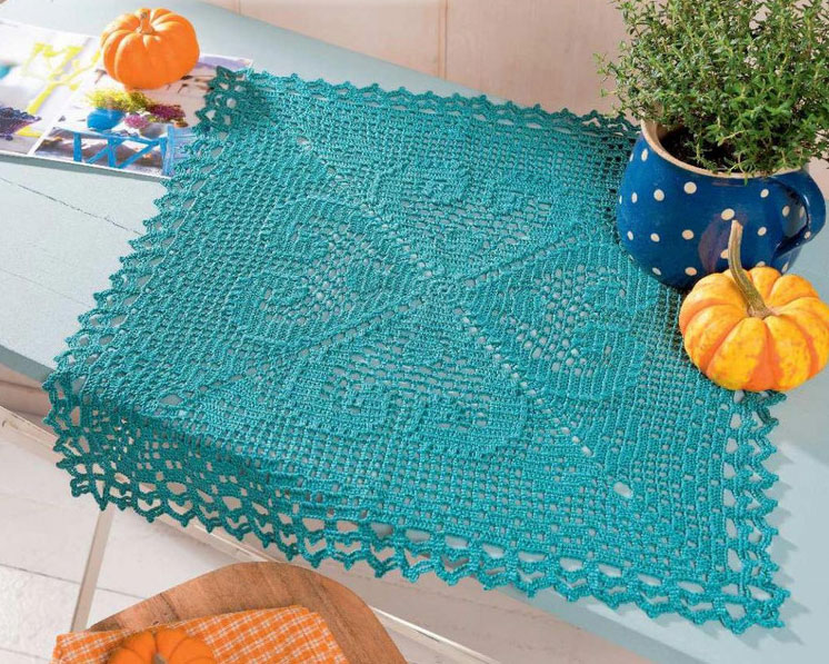 Square Doily Crochet Pattern