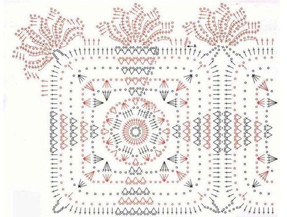 Square Motif Lace Doily Pattern ⋆ Crochet Kingdom
