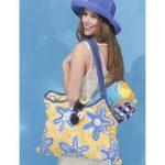 Starfish Beach Bag Free Crochet Pattern