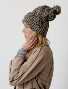 Stepping Texture Hat Free Crochet Pattern