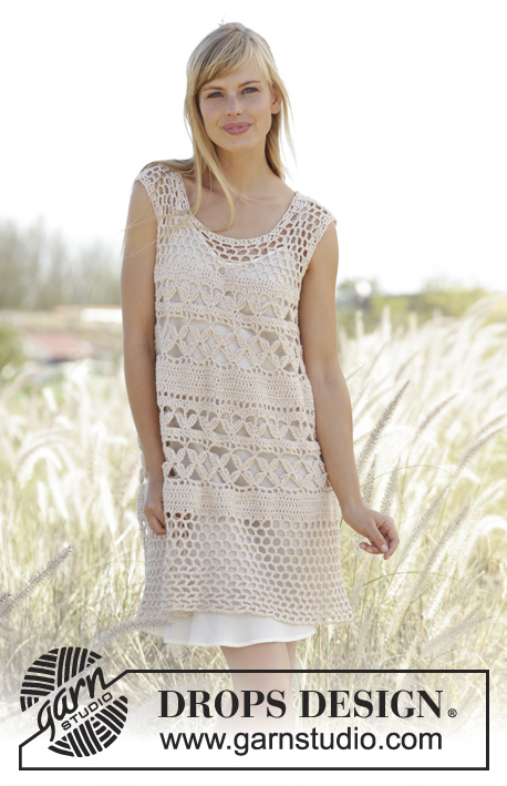 Summer Bliss Crochet Dress Pattern