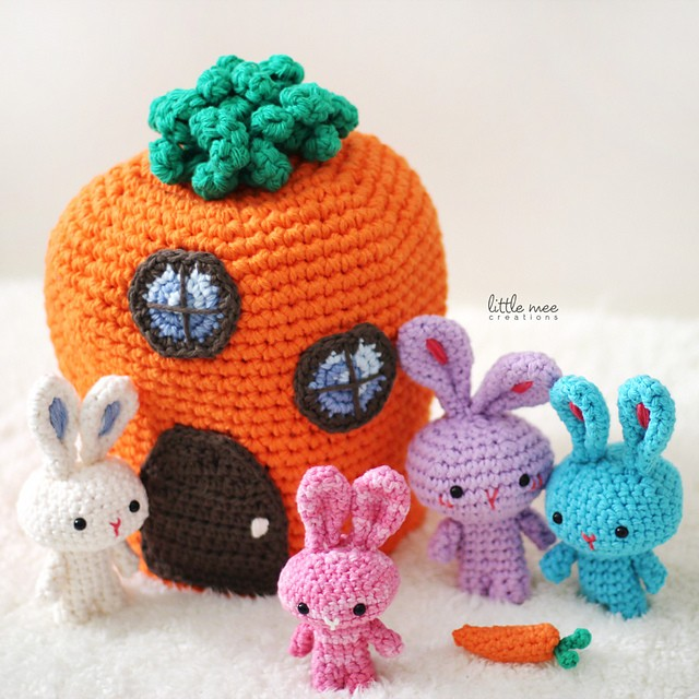 The Traveling Tu Family Free Easter Crochet Pattern