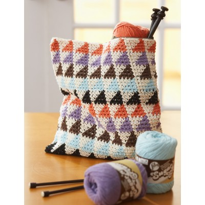 Totally Triangles Multi-Use Bags Free Crochet Pattern