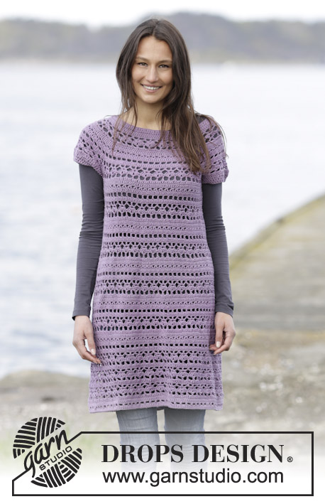 Toulouse Free Crochet Dress Pattern