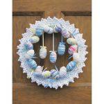 Happy Easter Egg Wreath Free Crochet Pattern