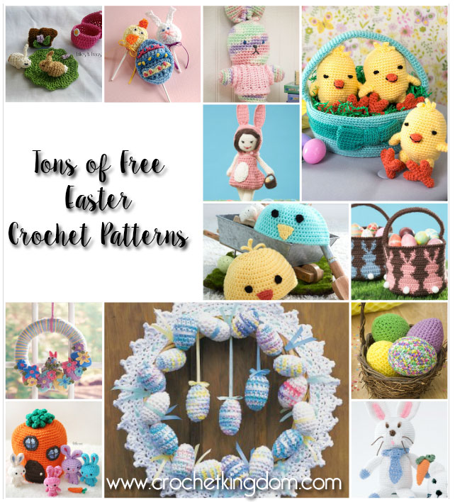 More Than 30 Free Easter Crochet Patterns To Print 42 Free Crochet