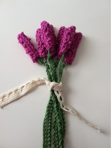 DIY Crochet Lavender Tutorial