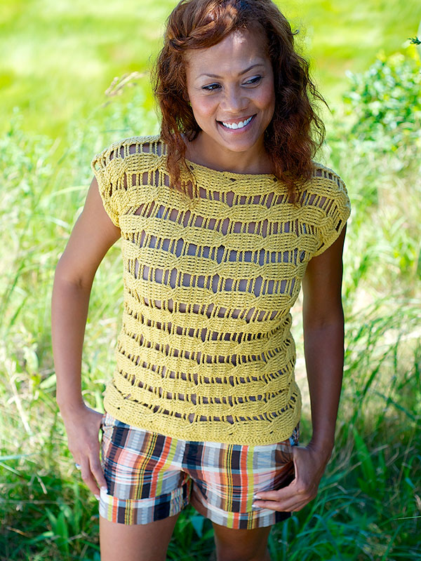 Genoa Women's Top Free Crochet Pattern