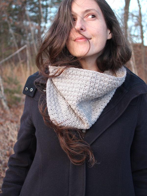 Millet Crochet Cowl Free Pattern 1