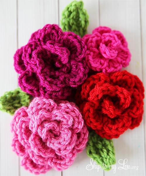 Crochet easy tiny flower {free crochet pattern} my merry messy life.