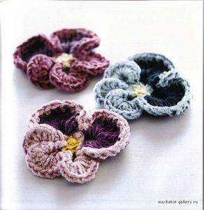 Crochet a Pansy