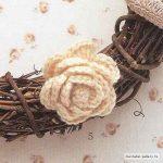 White Rose Free Crochet Pattern