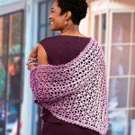Lacy Isosceles Crochet Shawl Free Pattern