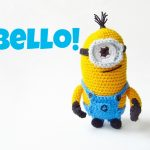 Amigurumi Despicable Me Minion Crochet Pattern