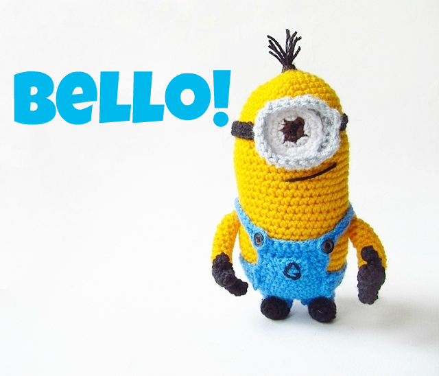 Amigurumi Despicable Me Minion Crochet Pattern