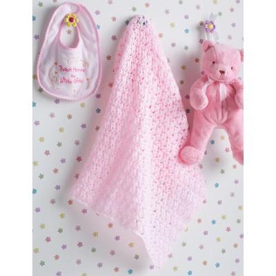 Beautiful Baby Blanket Free Crochet Pattern