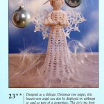 Crochet Angel Christmas Tree Topper