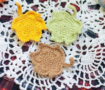 Crochet Maple Leaf Idea to Crochet