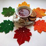 Crochet Maple Leaf Pattern Free
