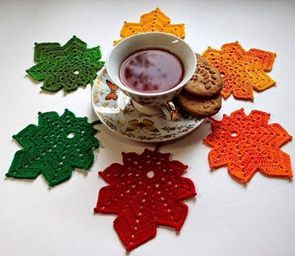 Crochet Maple Leaf Pattern Free