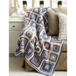 Deco Blocks Blanket Free Crochet Pattern