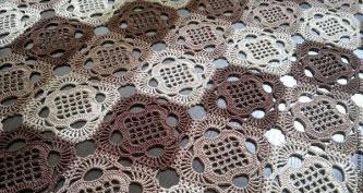 Grid Crochet Square Pattern