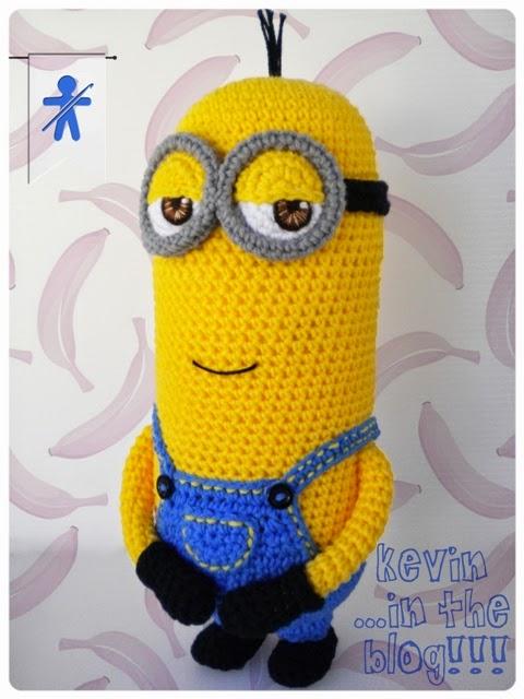 Kevin minion amigurumi free crochet pattern