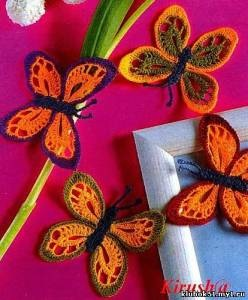 Lace Crochet Butterflies