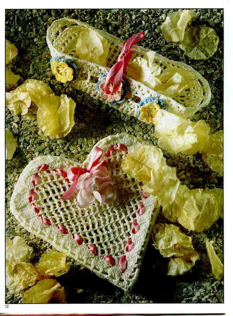Lace Heart Crochet Pattern