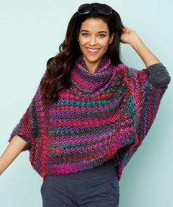 Origami Swing Sweater Free Crochet Pattern
