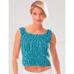 Patons Easy Tank Top Free Crochet Pattern