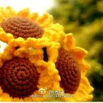 Sunflower Crochet Flower Pattern
