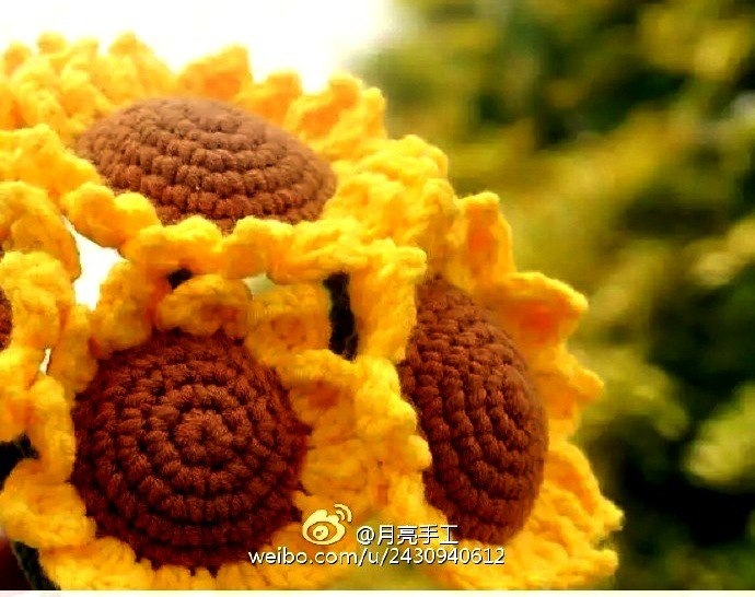 Sunflower Crochet Flower Pattern