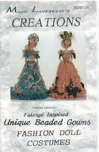 Crochet Beaded Doll Gown Patterns Crochet Kingdom