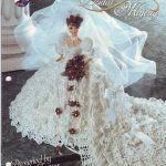 Fashion Doll Crochet Bridal Gown Pattern