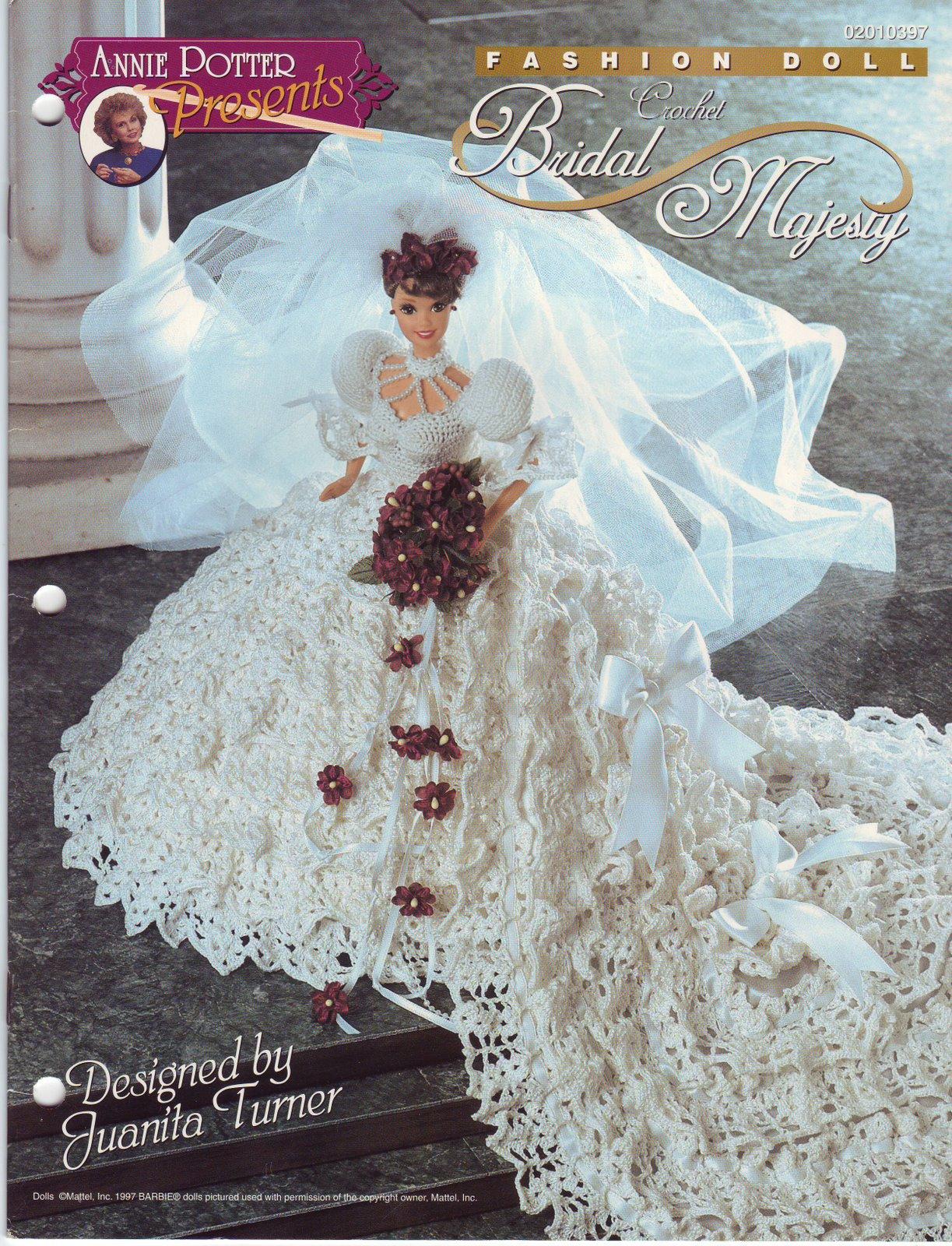 Fashion Doll Crochet Bridal Gown Pattern Crochet Kingdom