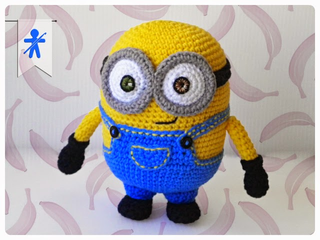 Make Kevin Bob And Stuart Free Minion Crochet Patterns ⋆ Crochet Cool Free Minion Crochet Pattern