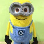 Minion crochet tutorial step-by-step