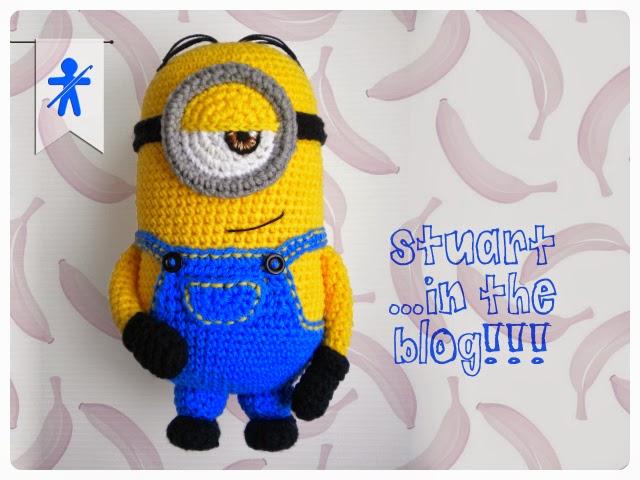 Make kevin bob and stuart free minion crochet patterns crochet stuart minion amigurumi free crochet pattern ccuart Choice Image