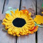 sunflower to crochet