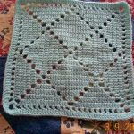 Bobby's Square Free Crochet Square Pattern 12 Inch
