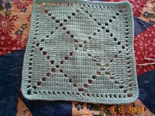 Bobby S Square Free Crochet Square Pattern 12 Inch