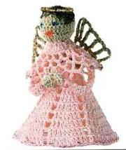 Crochet Angel Christmas Pattern