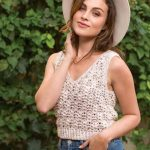 Cute Summer Vest to Crochet with Cotton Pattern