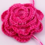 Super Easy Crocheted Rose Tutorial