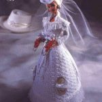July Barbie Bridal Crochet Dress Pattern