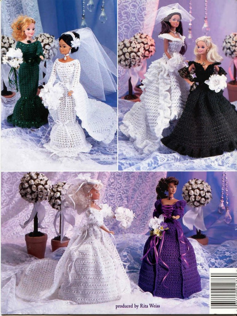 free crochet patterns for barbie clothes Archives ⋆ Crochet Kingdom ...