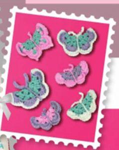 free crochet butterfly pattern